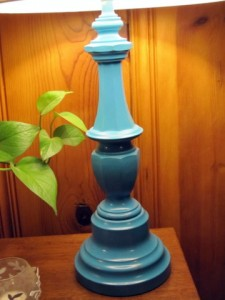 blue lamp completed