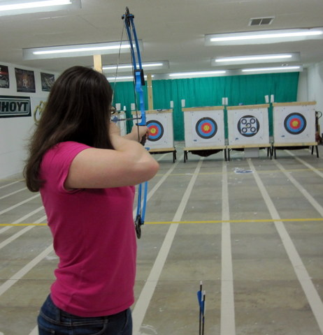 left handed bow