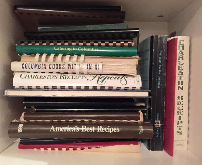 Vintage cookbooks South Carolina