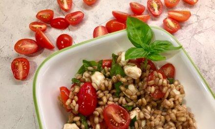 Caprese Pearl Barley Salad