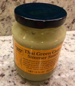 trader joes thai green curry simmer sauce