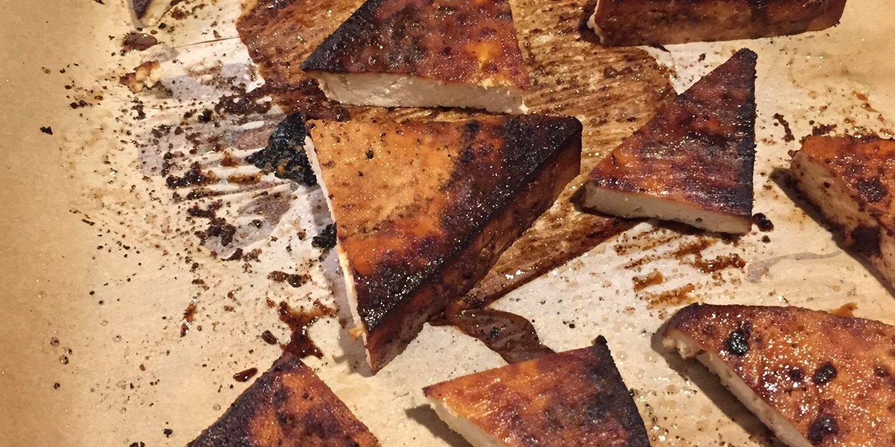 Trader Joe's Savory Baked Tofu Recipe