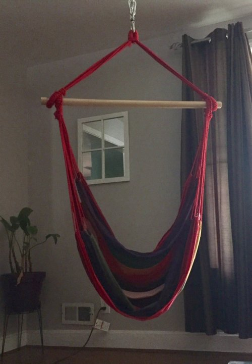Hanging A Hammock Chair — The April Blake