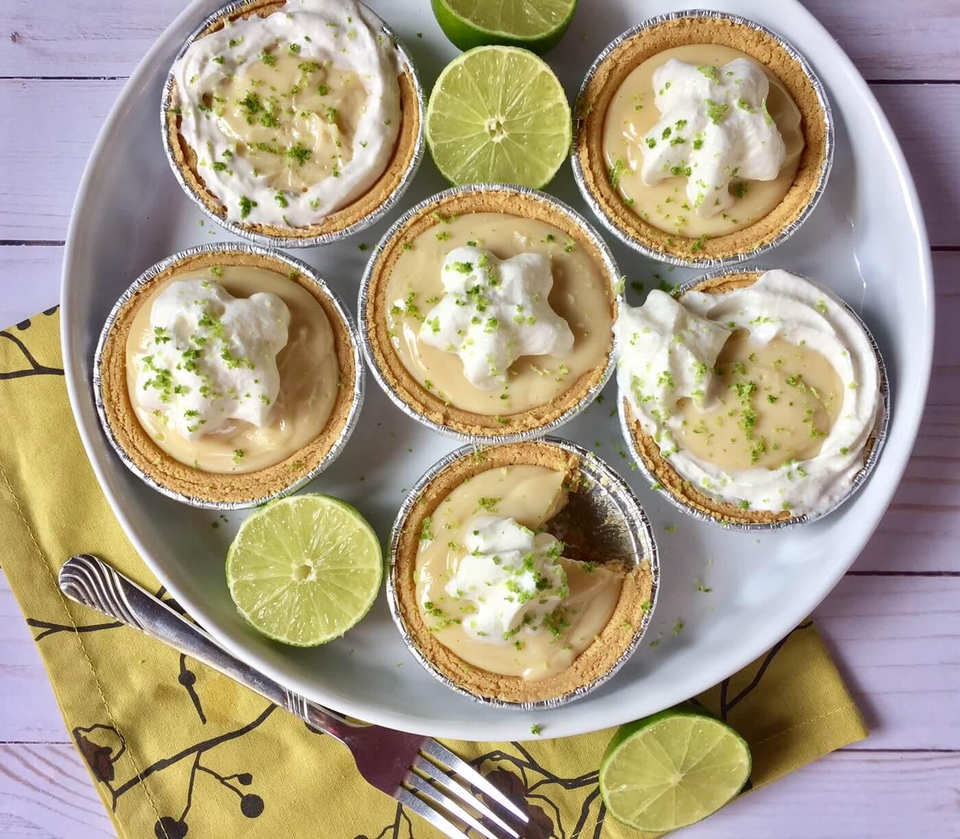 Mini Key Lime Pies The April Blake