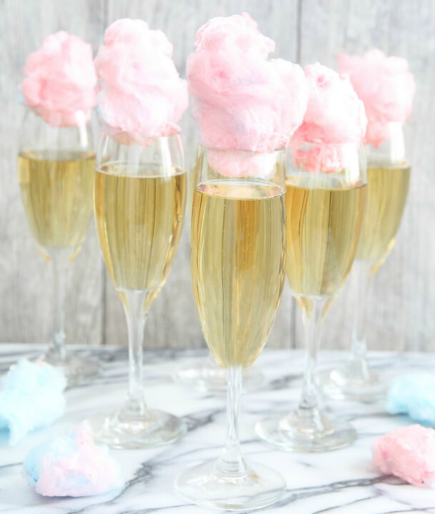 Pink And Blue Baby Shower Food Ideas The April Blake